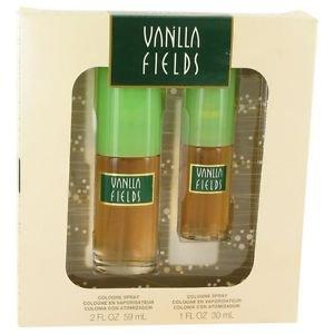 Vanilla Fields By Coty Gift Set -- 2 Oz Cologne Spray + 1 Oz Cologne Spray
