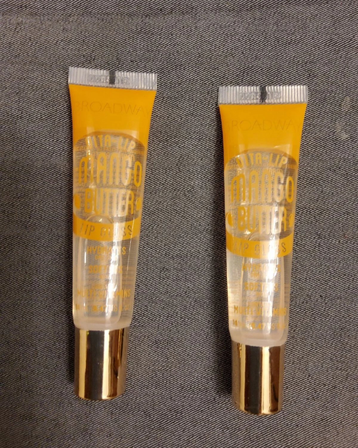 Mango Butter Lip Gloss 2pk