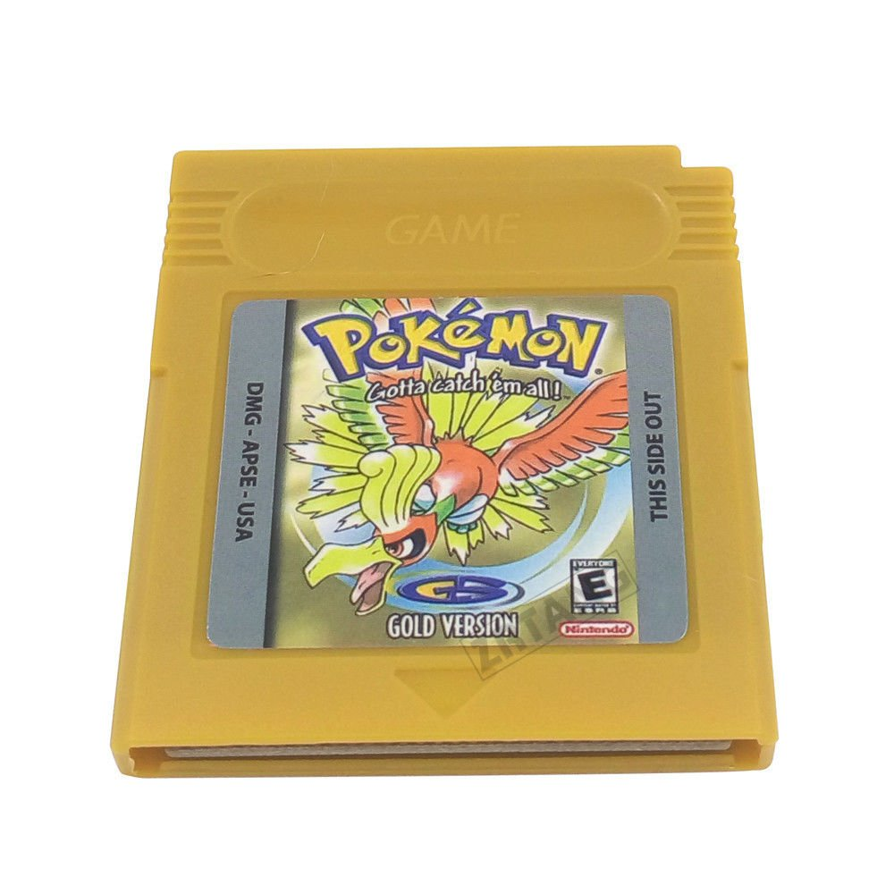 Pokemon Gameboy Gold Version 100% Working