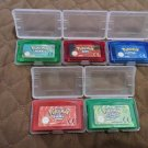 Pokemon Gameboy Advanced ALL COLORS 100% Working