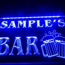 Name Personalized Custom Home Bar Beer Mugs Cheers Neon Sign hang sign home decor crafts