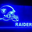 Oakland Raiders Helmet beer Bar Pub 3d signs LED Neon Light Sign b229