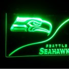 b-78 seattle seahawks logo Beer Bar Pub Club NEW LED Neon Light Sign