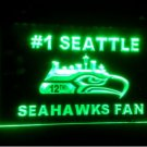 b-87 seattle Seahawks fan Beer Bar Pub Club NEW LED Neon Light Sign