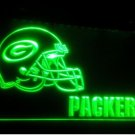 b-83 greem packers helmet Beer Bar LED Neon Light Sign