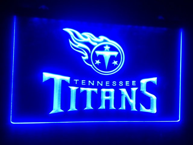 b-130 Tennessee Titans LED Neon Light Sign