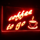 b-70 coffee to go Bar NR LED Neon Light Sign