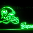 b-220 Miami Dolphins Helmet Bar LED Neon Light Signs