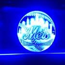 b-133 New York Mets MLB Baseball LED Neon Light Sign