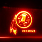 b-253 Washington Redskins Bar LED Neon Light Signs