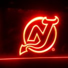 b-112 New Jersey Devils Hockey LED Sign Neon Light Sign Display