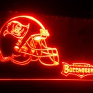 b-233 Tampa Bay Buccaneers Helmet Bar LED Neon Light Signs