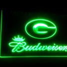 b-186 PACKERS Budweiser LED Neon Light Sign home decor crafts