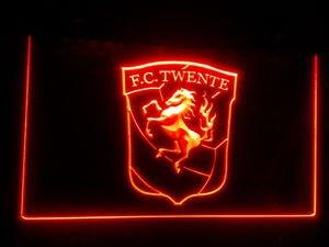 FBHL-09 The Dutch league FC TWENTE club LOGO LED Neon Sig