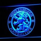 fby-11 Middlesbrough UK FC Soccer Football LED Neon Light Sign