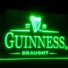 b-09 Guinness Vintage Logos Beer Bar LED Neon Light Sign