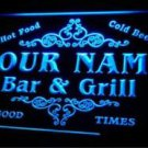 tm-04 Name Personalized Custom Family Bar & Grill Beer Home Gift Light Neon Sign