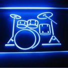 Drum Music Logo Beer Bar Pub Store Light Sign Neon