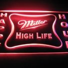 Happy Hour Miller High Life Bar Light Sign Neon