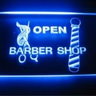 Open Barber Shop Logo Beer Bar Pub Light Sign Neon