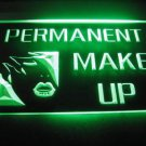 Permanent Make Up Logo Beer Bar Light Sign Neon