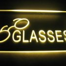 Glasses Logo Beer Bar Pub Store Light Sign Neon