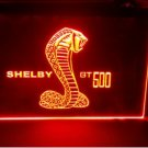 shelby gt500 beer bar pub club 3d signs LED Neon Light Sign man cave