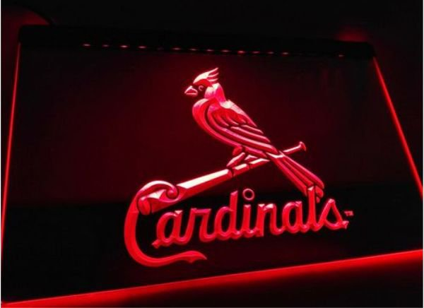StLouis Cardinals bar Beer pub club 3d signs LED Neon Sign man cave