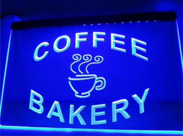 Bakery Coffee Shop Cup bar Beer pub club 3d signs LED Neon Sign man cave