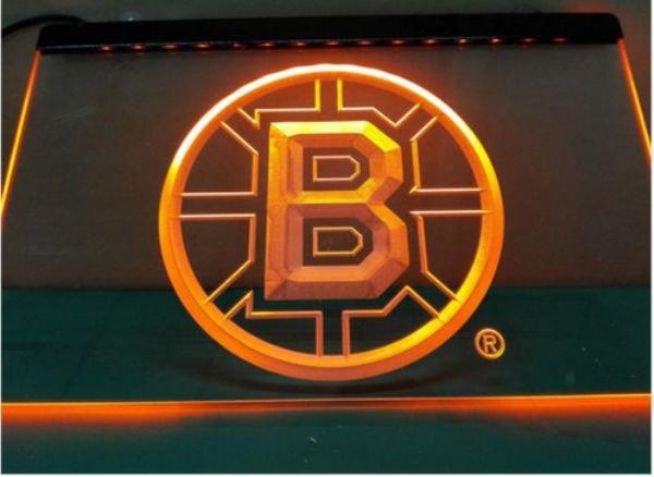 Bruins bar Beer pub club 3d signs LED Neon Sign man cave