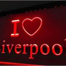 I Love Liverpool bar Beer pub club 3d signs LED Neon Sign man cave