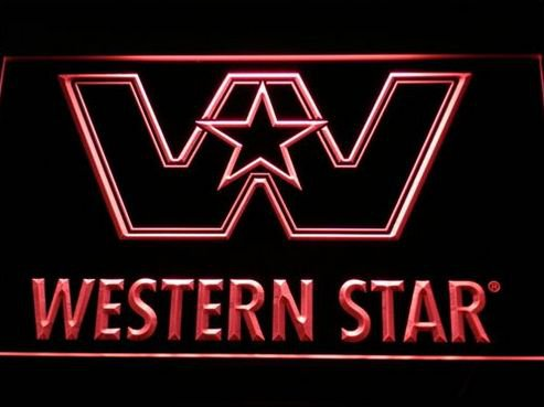 Western Star Logo Services NEW bar Beer pub club 3d signs LED Neon Sign man cave