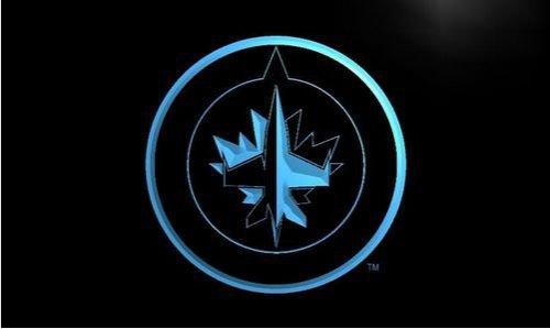 Winnipeg Jet bar Beer pub club 3d signs LED Neon Sign man cave