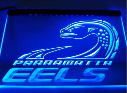 Parramatta Eels bar Beer pub club 3d signs LED Neon Sign man cave