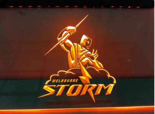 Melbourne Stormbeer bar Beer pub club 3d signs LED Neon Sign man cave