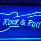 Rock and Roll Guitar Music NEW bar Beer pub club 3d signs LED Neon Sign man cave