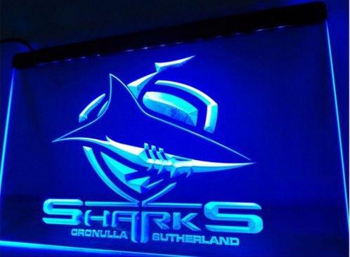 Sharks Cronulla Sutherland bar Beer pub club 3d signs LED Neon Sign man cave