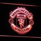 Man UTD Red Devil Manchester United Team Soccer Bar Club Neon Light Sign Rare