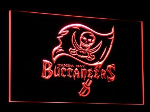 Tampa Bay Buccaneers Sport bar beer pub club 3d signs LED Neon Sign man cave