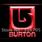 Burton Snowboarding bar beer pub club 3d signs LED Neon Sign man cave