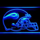 Minnesota Vikings Helmet bar beer pub club 3d signs LED Neon Sign man cave