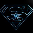 Dallas Cowboys Super Hero bar beer pub club 3d signs LED Neon Sign man cave