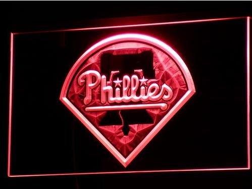 Philadelphia Phillies bar beer pub club 3d signs LED Neon Sign man cave