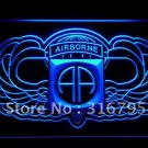 82nd Airborne Wings Army  bar beer pub club 3d signs LED Neon Sign man cave