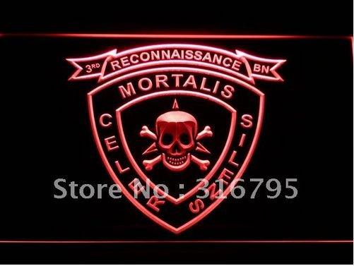 3rd Recon Marine Battalion USMC bar beer pub club 3d signs LED Neon Sign man cave