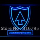 26th Infantry Regiment Army bar beer pub club 3d signs LED Neon Sign man cave