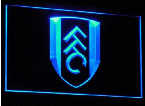 Fulham Soccer bar beer pub club 3d signs LED Neon Sign man cave
