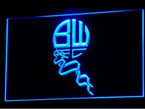bolton FOOTBALL CLUB 1875 bar beer pub club 3d signs LED Neon Sign man cave