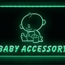 Baby Accessories Shop Logo Lure LED Light Sign Bar Beer Pub Store