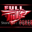 Full Tilt Poker Logo Beer Bar Pub Light Sign Neon